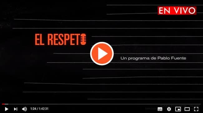 Radio El Respeto en directo en YouTube